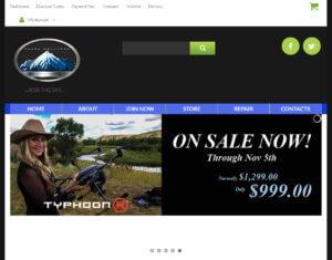 Drone Mountain website screenshot