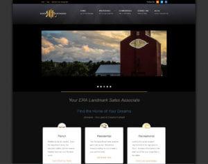 Ranch Livingston website screenshot