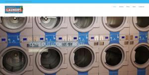 Bogart's Laundry Homepage Screenshot