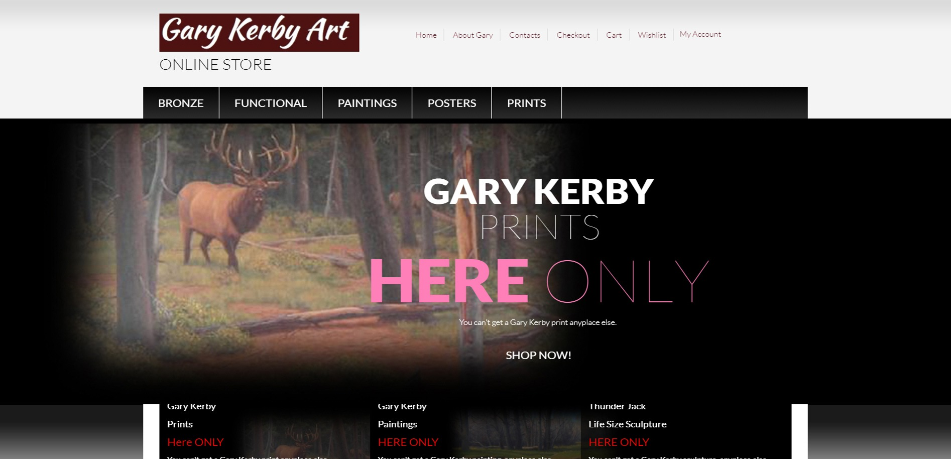 Gary Kerby Art Graphic